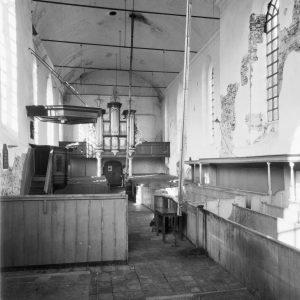 Interieur naar het westen: ca. 1960