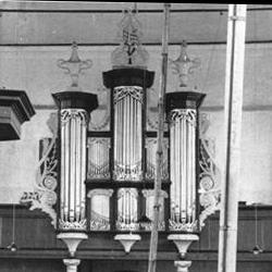 De eerste grote restauratie (1954-1955)