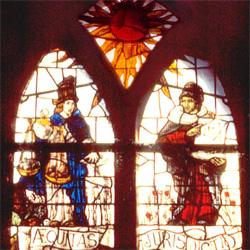 Het eerste, het middelste raam