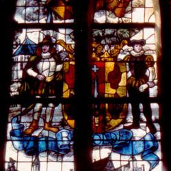 Rolderdingspel, het tweede raam van rechts