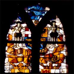Zuidenveld, het raam rechts van het middenvenster